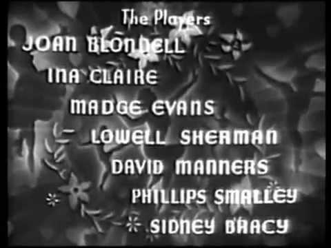 THREE BROADWAY GIRLS 1932 Joan Blondell, full movie