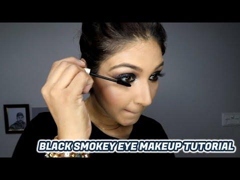 How to do Smokey eye makeup | Black Smoky Eyes | makeup tutorial | Ginni tutorials