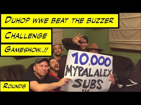 Duhop WWE BEAT THE BUZZER CHALLENGE GAMESHOW ROUND 8