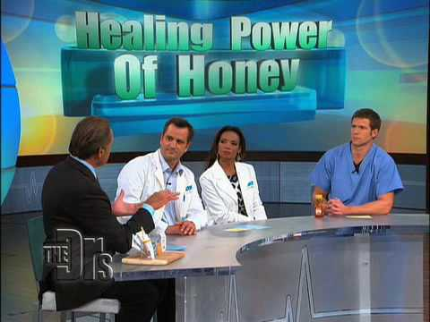 Healing Power of Honey on 'The Doctors'
