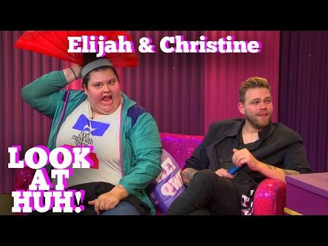 ELIJAH DANIEL & CHRISTINE SYDELKO on LOOK AT HUH!