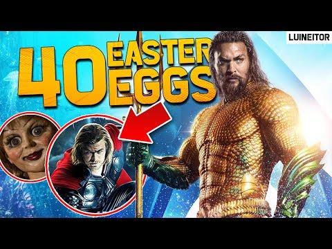 AQUAMAN - 40 Secretos, Referencias, Cameos y Easter Eggs de la película!! Luineitor!