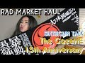 RAD MARKET HAUL The GazettE 15th Anniversary UNBOXING BLACK MORAL | Late Sixthgun Talk