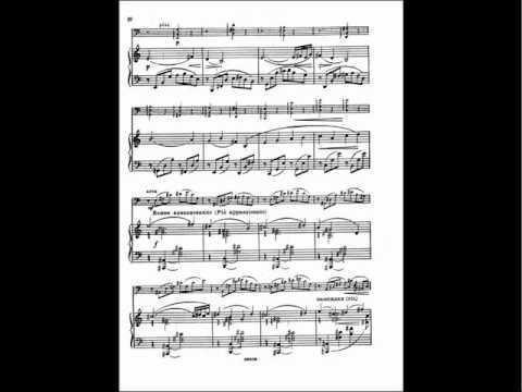 Myaskovsky - Sonata Cello and Piano No. 2 Op. 81 1/3