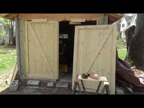 AT Update And Building Shed Doors
