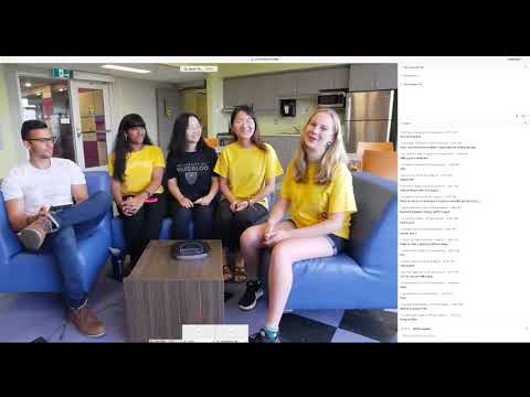 International Live Chat #1: Connecting To Campus