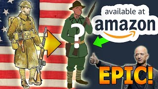 """🇺🇲We Made a """"WW1 US Uniform"""" from Amazon for $127"""