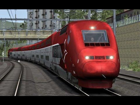 Train Simulator: Avignon TGV - Marseille Saint-Charles with Thalys PBKA