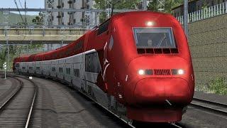 Train Simulator: Avignon TGV - Marseille Saint-Charles with Thalys TGV-PBKA