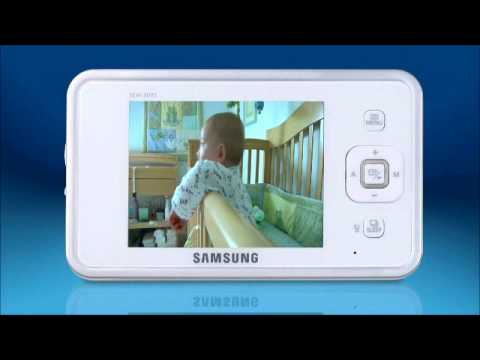 sew 3035 samsung s guide on how to set up our baby monitor youtube rh youtube com