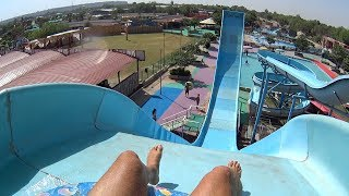 Pendulum Water Slide at Splash The Sun City