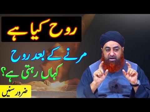 Rooh kya Hai? Marney key Baad Rooh kahan rahty Hai | Mufti Akmal Sahab | ISLAM
