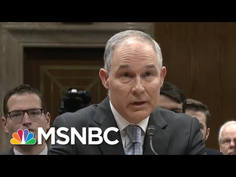What Pushed EPA Chief Scott Pruitt To Finally Resign? | Velshi & Ruhle | MSNBC