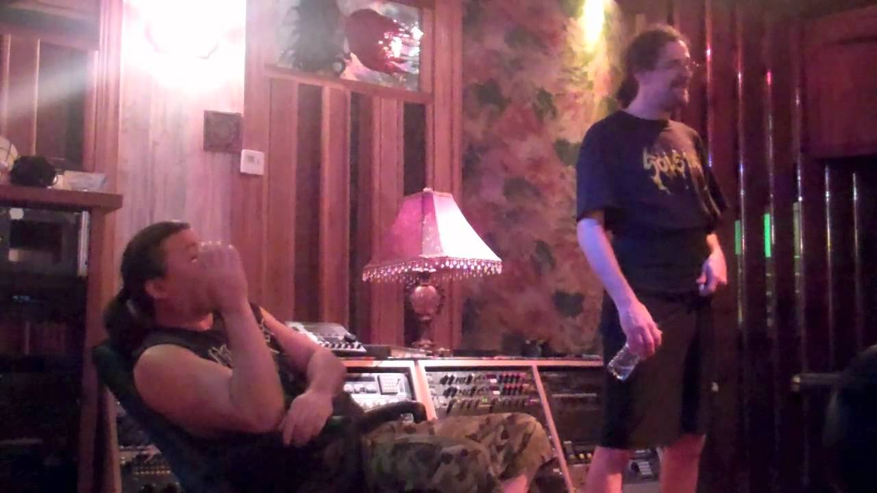 """Cannibal Corpse """"Torture"""" studio video: drum tracking and guitar tones"""