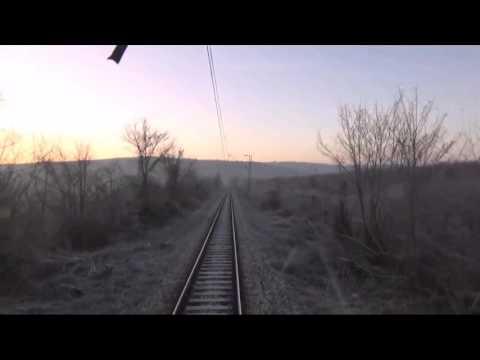 Train Driver's view:railroad in Serbia from Ripanj Tunel to Ralja - SERBIAN RAILWAYS
