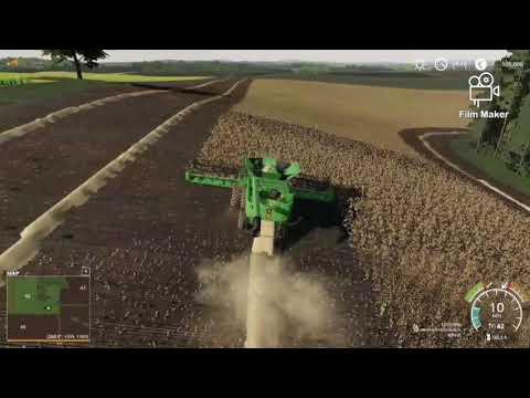 Farming Simulator 19 - Platinum Expansion || LONE OAK FARM || Let's play #1 timelapse |