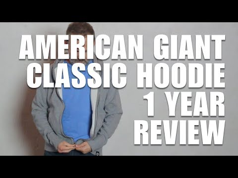 American Giant Classic Hoodie 1 Year Review