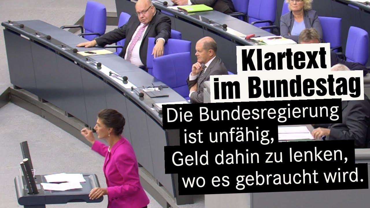 Klartext im Bundestag: Was die Union macht ist nicht christlich, das ist schäbig