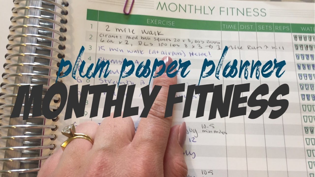 fitness paper