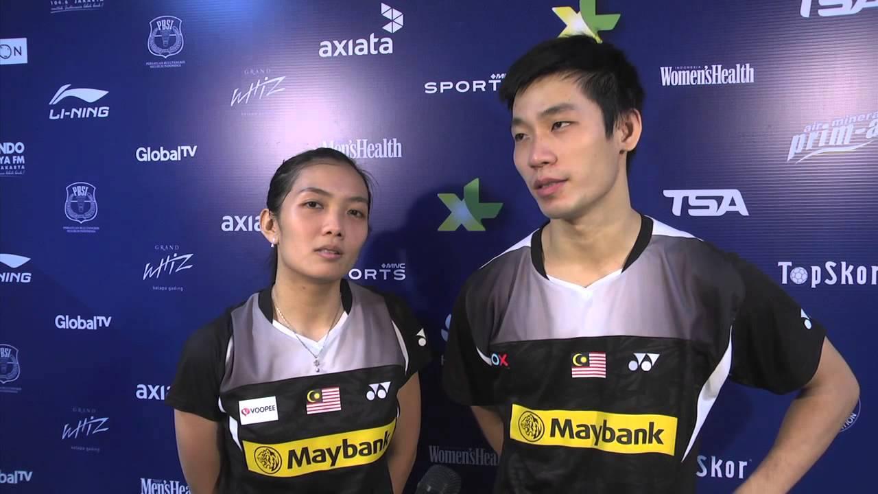 AXIATA CUP 2014 POST MATCH LAI PEI JING & CHAN PENG SOON