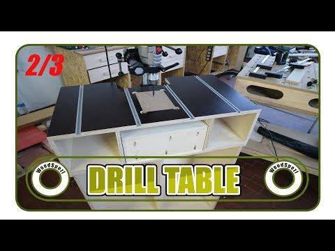 Bohrtisch - Drill Table DIY (2/3)