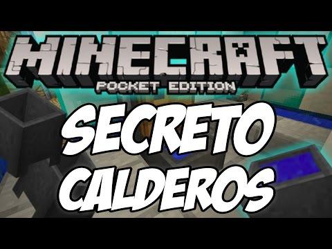 Secreto Del Caldero Minecraft PE 1.0 (Pocket Edition)(PC)