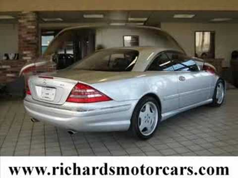 used 2002 mercedes benz cl500 amg sport boston ma 26999. Black Bedroom Furniture Sets. Home Design Ideas