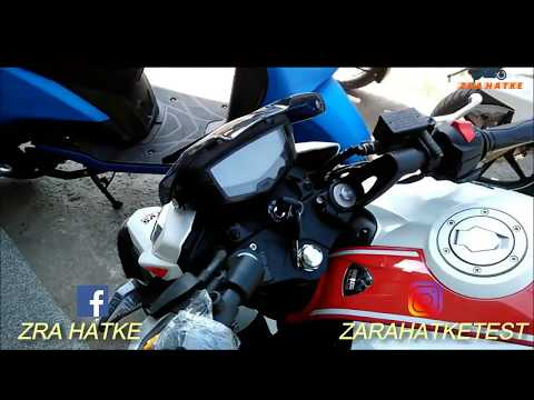 Delivery Of New Tvs Apache RTR 200 2018 | Race Edition 2.0 |