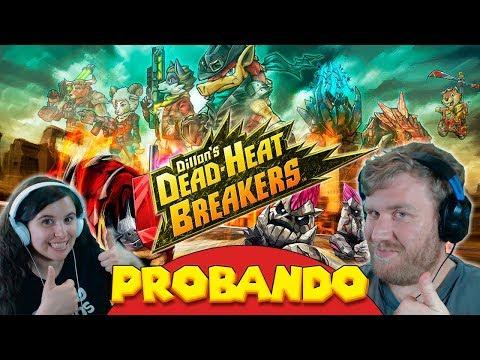 DILLON´S DEAD-HEAT BREAKERS I Primeras Impresiones: Mario Kart en Armadillo?