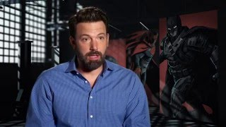 "Batman v superman ""batman"" behind the scenes interview - ben affleck"