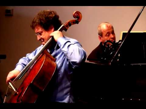 Parry Karp & Eli Kalman performing Sonata in F Major, Op. 5 No. 1 (1796)