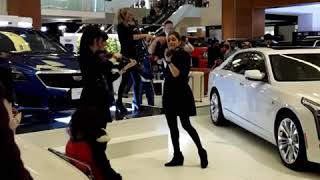 Live Music Artist at the Kuwait Motor show 2018 at 360 Mall
