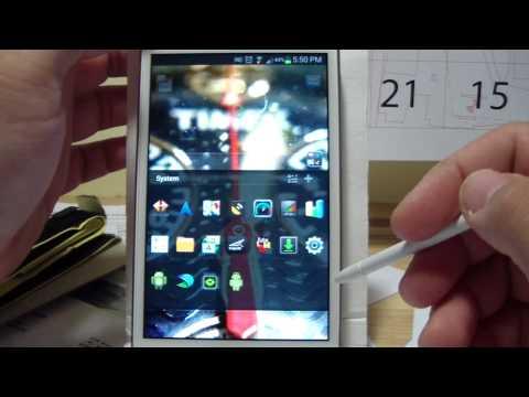 JonRom V9 Dirty Flash Galaxy Note GT-N7000
