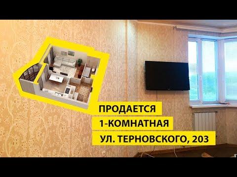 Продается 1-комнатная Терновского 203   Купить квартиру в Терновке Пенза