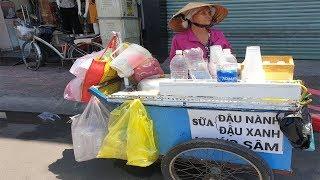 Cụ bà 68 tuổi thức khuya dậy sớm bán sữa đậu nành kiếm tiền nuôi 3 cháu ăn học  - PhuTha vlog
