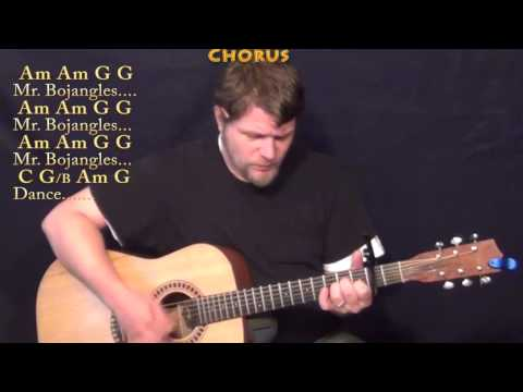 Mr Bojangles (Jerry Jeff Walker) Strum Guitar Cover Lesson with Chords/Lyrics - Capo 2nd Fret