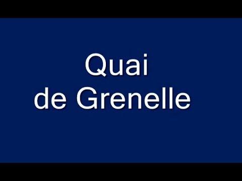 Quai de  Grenelle Paris 15arr
