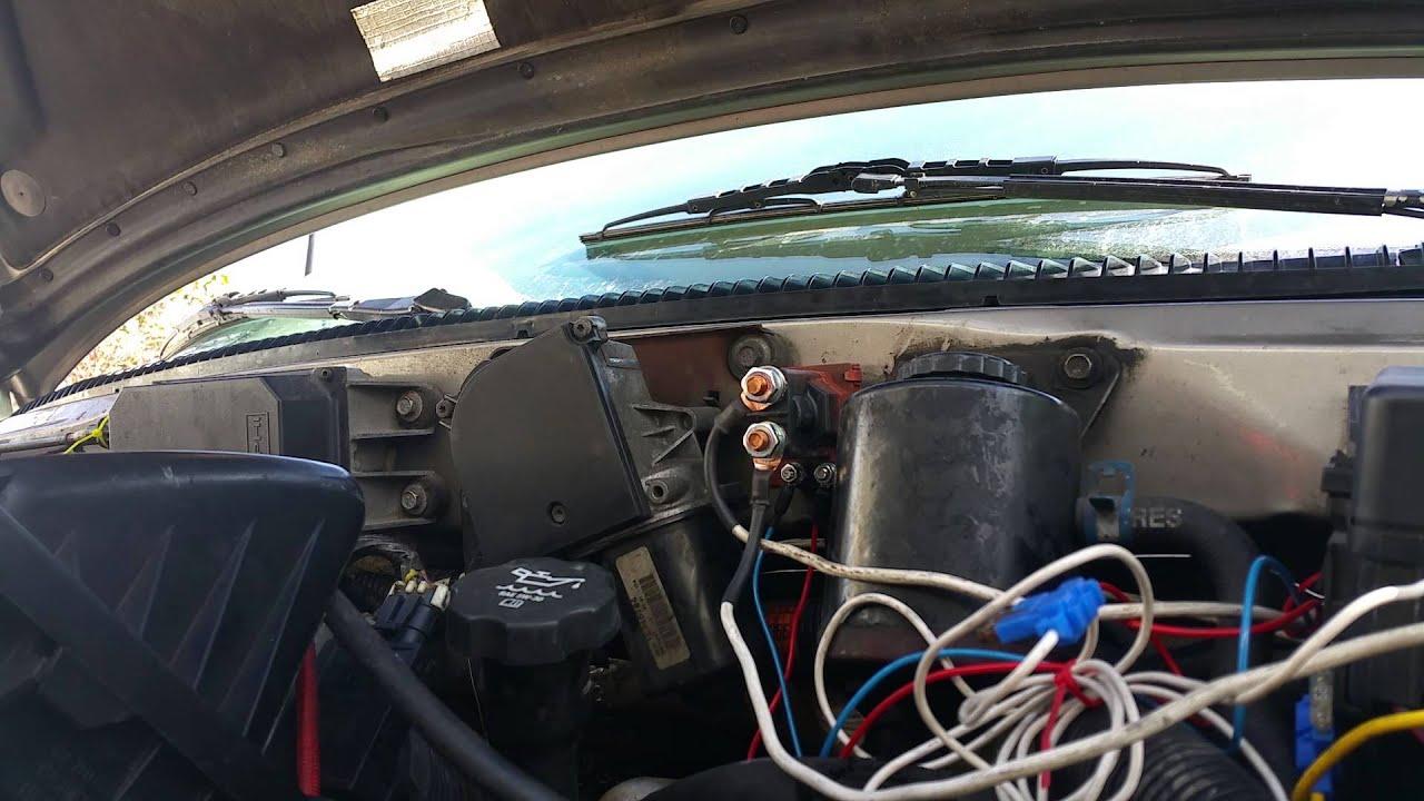 Pac 80 amp isolator solenoid on astro van - YouTube