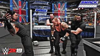 WWE 2K19 Smackdown Moment: The Shield Attacks/Triple Powerbombs The Undertaker (SD 4/26/2013)
