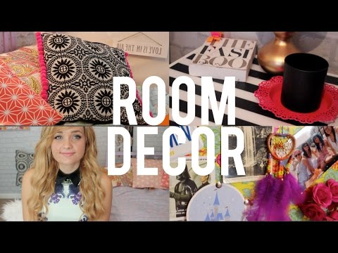 DIY Room Decor Inspired By Tumblr And Pinterest YouTube