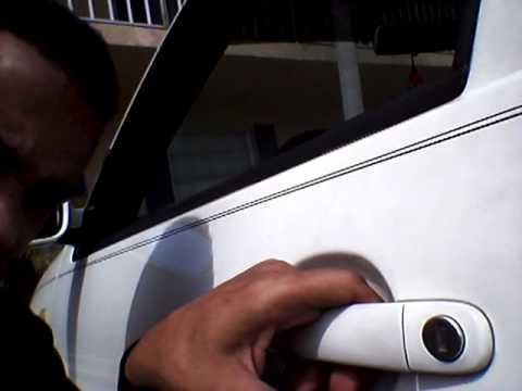 99 VW JETTA DOOR HANDLE PROBLEM - YouTube