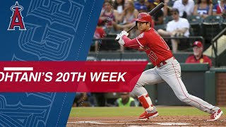 Best of Shohei Ohtani's 20th week of 2018