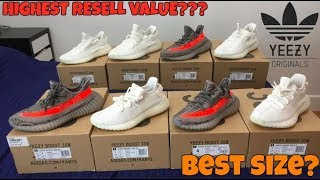 THE BEST SIZES TO BUY IN YEEZY V2  (SIZES WITH HIGHEST RESELL VALUE)