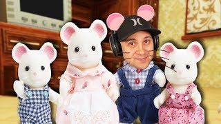 I moved my mouse family to a NEW HOME! | Mouse Simulator