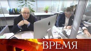 Смотреть Известные юмористы Евгений Петросян и Елена Степаненко разводятся и делят имущество. онлайн