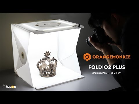 "Foldio2 Plus 15"" All-in-One Portable Studio Product Photography Light Tent Unboxing and Review"