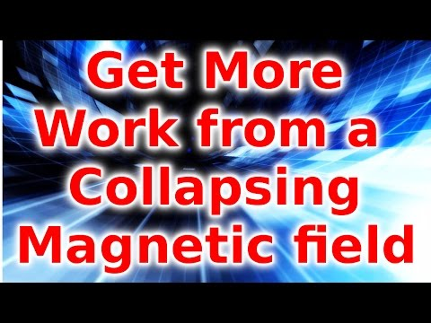 Collapsing Field Provides Amplified Current