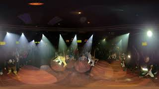 360° VR Video FEROCITY DACE COMPANY Bachata Dance Performance  At THE SALSA ROOM