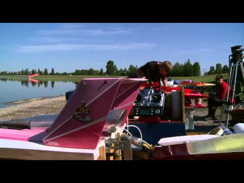 Beautiful RC Racing Boats In Calgary