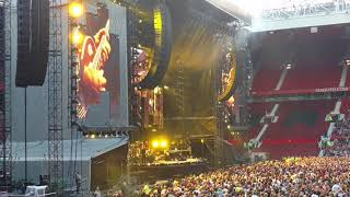 Billy Joel Old Trafford Manchester Sunshine Of Your Smile Honky Tonk Woman